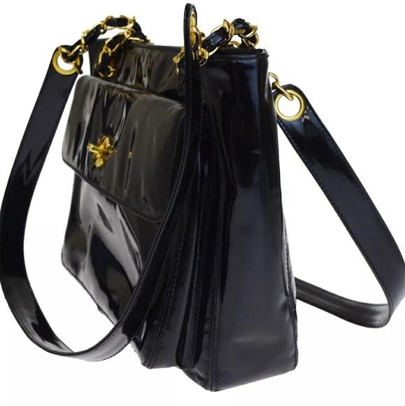 CHANEL Handbags - Rare Auth CHANEL CC Turnlock Shoulder Bag More Pic